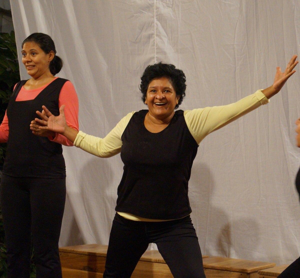 Fanny Vado teatro colectivo de mujeres de matagalpa