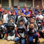 Entregan mochilas y filtros para las poblaciones rurales de Jinotega