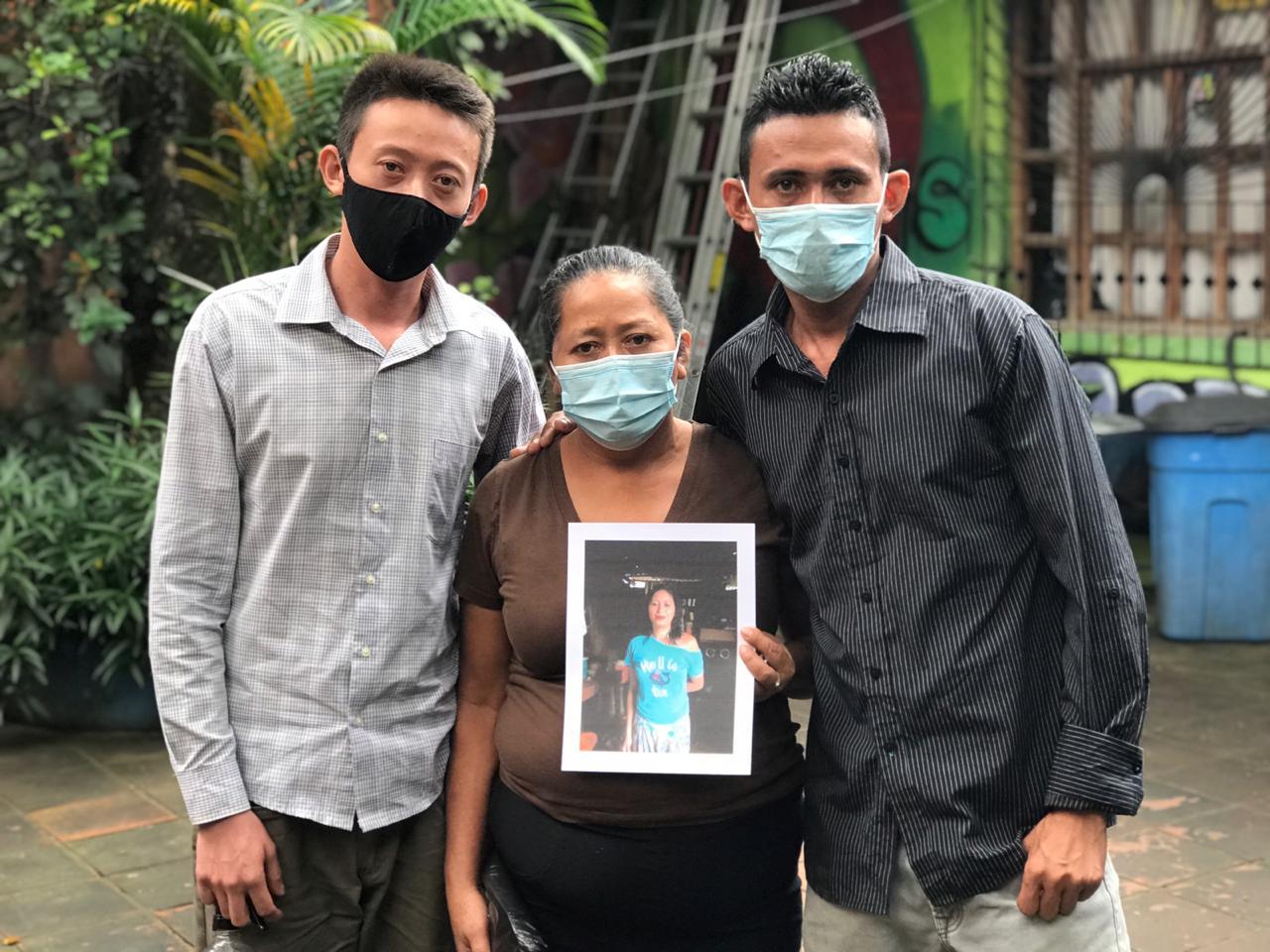 Familia de Fátima Martínez victima de femicidio en Matagalpa exigen justicia