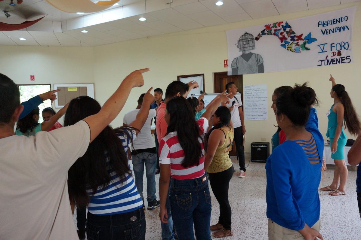 Foro de jovenes Matagalpa