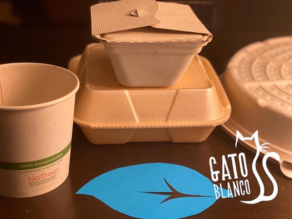 El Gato Blanco es un restaurante de comida italiana, ha tomado la decisión de cambiar su modalidad de atención como una forma de evitar la propagación del coronavirus
