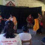 """""""Los enredos de mi tierra"""" fue presentada en las comunidades de Matagalpa"""