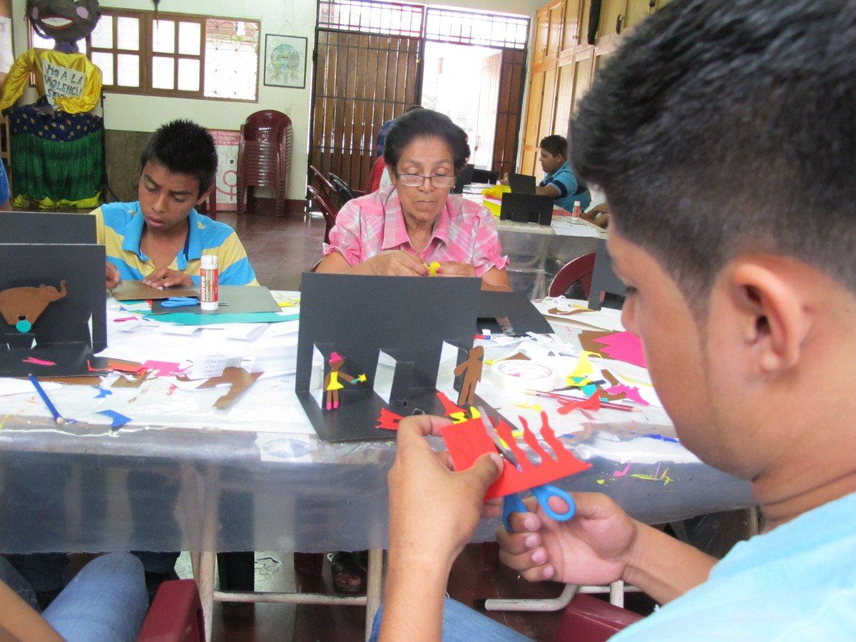 artes plásticas colectivo de mujeres matagalpa