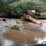 Molino sur y comunidades aledañas afectadas por fuertes lluvias