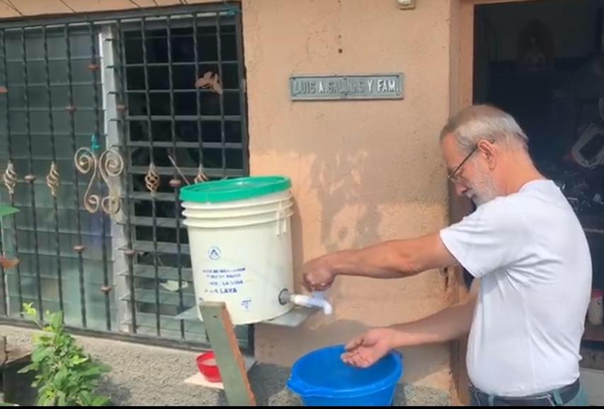 La implementación de lavamanos