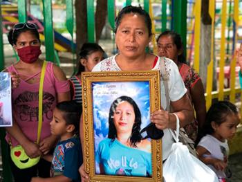 madre de fatima Martinez víctima de femicidio matagalpa