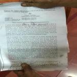 Pobladora denuncia a su vecino por asedio y amenazas de muerte