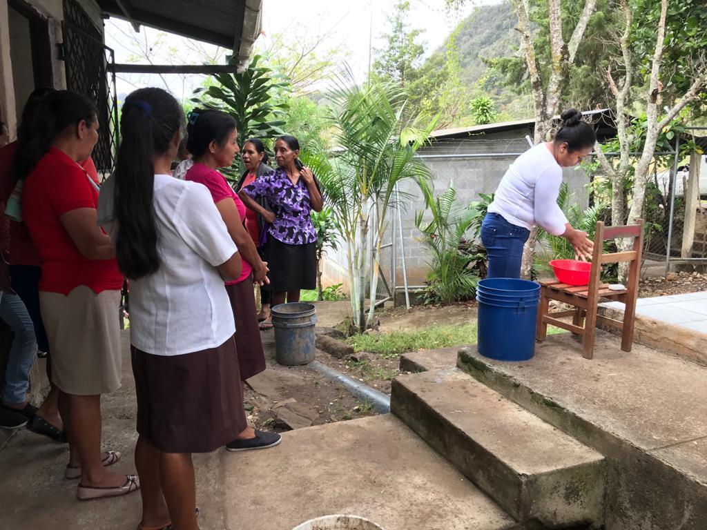 Mujeres de la comunidad rural el Matasano del municipio Matagalpa se sienten vulnerables ante la pandemia del coronavirus