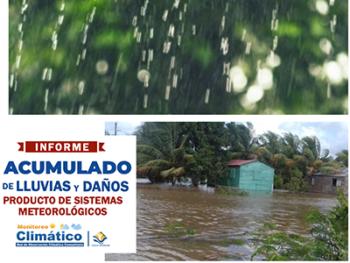 Estudio acumulado de lluvias y daños Centro Humboldt Nicaragua