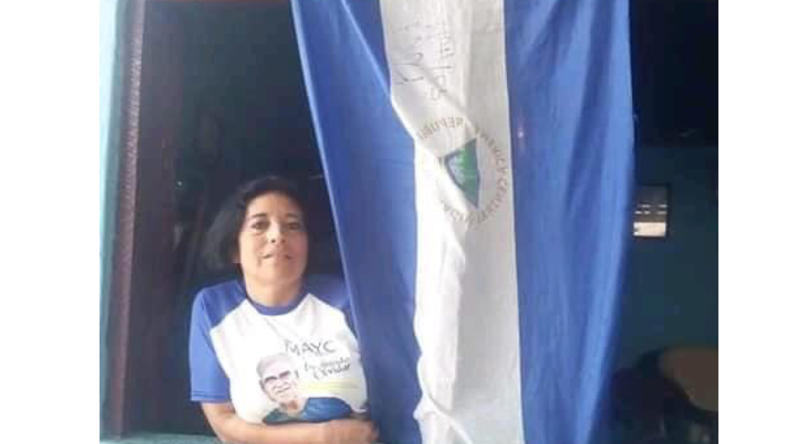Esperanza Sánchez presa política de Nicaragua