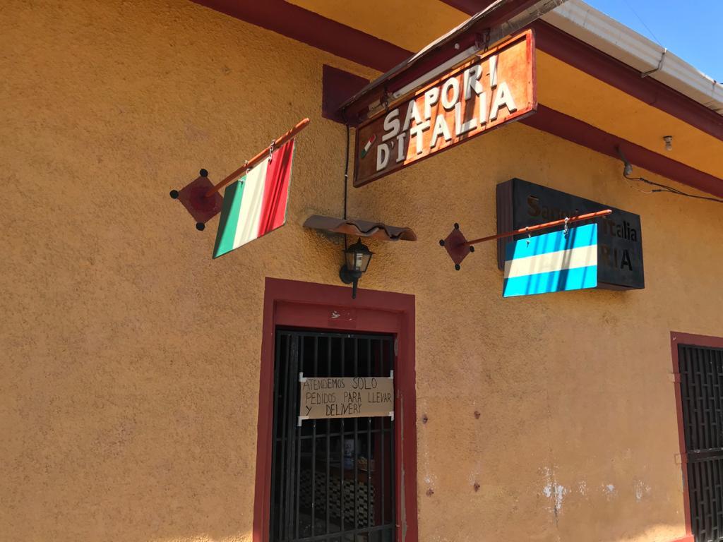 Restaurantes de Matagalpa que permanecieron cerrados durante los primeros cuarenta días desde que se reportó el primer caso de coronavirus