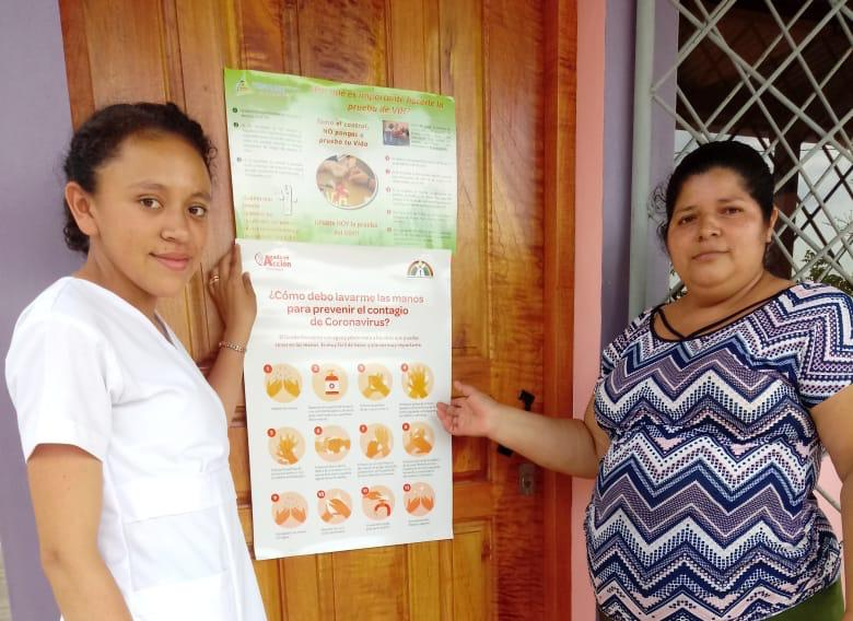 En Esquipulas las familias se unen para prevenir el coronavirus