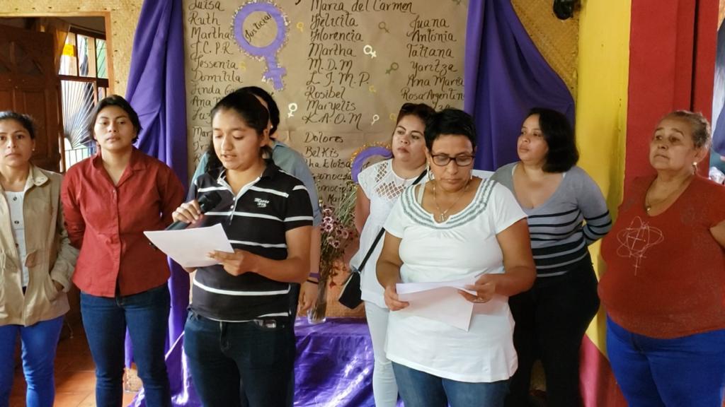 Feministas-en-Matagalpa