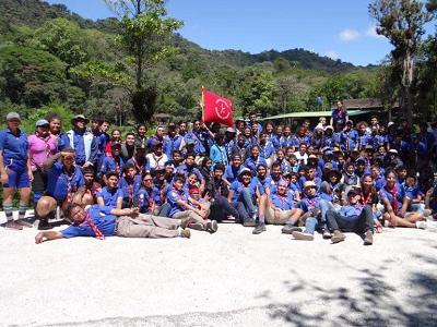 Jóvenes-Scouts-Matagalpa
