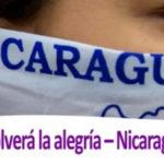Volverá la alegría, Nicaragua resiste
