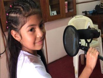 Niña compone una canción en honor a las hermanas asesinadas en Mulukukú