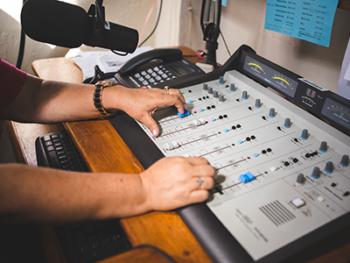 espacio musical en radio vos