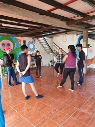 Suspenden curso de teatro promovido e impartido por el Grupo de Teatro Garabato como una medida de prevención ante la pandemia actual del coronavirus